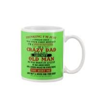 crazy dad born in august Mug thumbnail