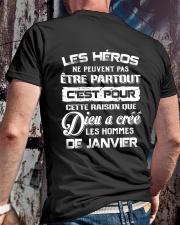 janvier les heros Classic T-Shirt lifestyle-mens-crewneck-back-2