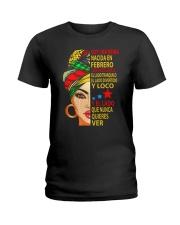 febrero soy una reina Ladies T-Shirt front