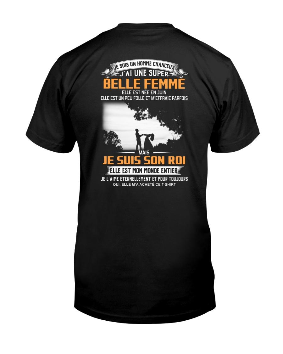 Elle Est Nee En 6 Classic T-Shirt