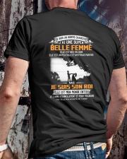 Elle Est Nee En 6 Classic T-Shirt lifestyle-mens-crewneck-back-2