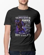 September but failed Classic T-Shirt lifestyle-mens-crewneck-front-13