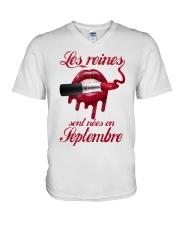 septembre les reinees V-Neck T-Shirt thumbnail