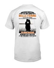 Elle Est Nee En 3 Classic T-Shirt back