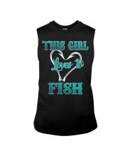 this girl love to fish Sleeveless Tee thumbnail