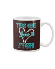 this girl love to fish Mug thumbnail