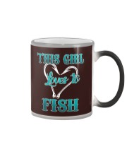 this girl love to fish Color Changing Mug thumbnail
