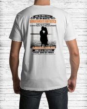 E NATO AD 9 Classic T-Shirt lifestyle-mens-crewneck-back-1