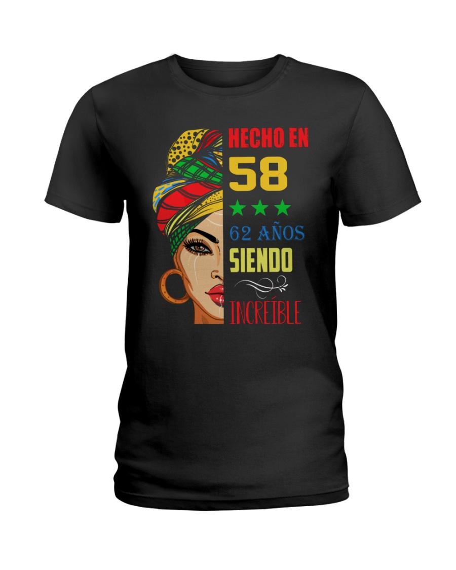 Hecho En 58 Ladies T-Shirt