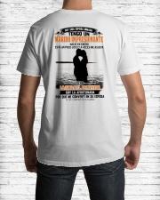 nacio en 1 Classic T-Shirt lifestyle-mens-crewneck-back-1