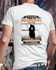 nacio en 1 Classic T-Shirt lifestyle-mens-crewneck-back-2