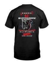 je suis ne en 62 Classic T-Shirt back