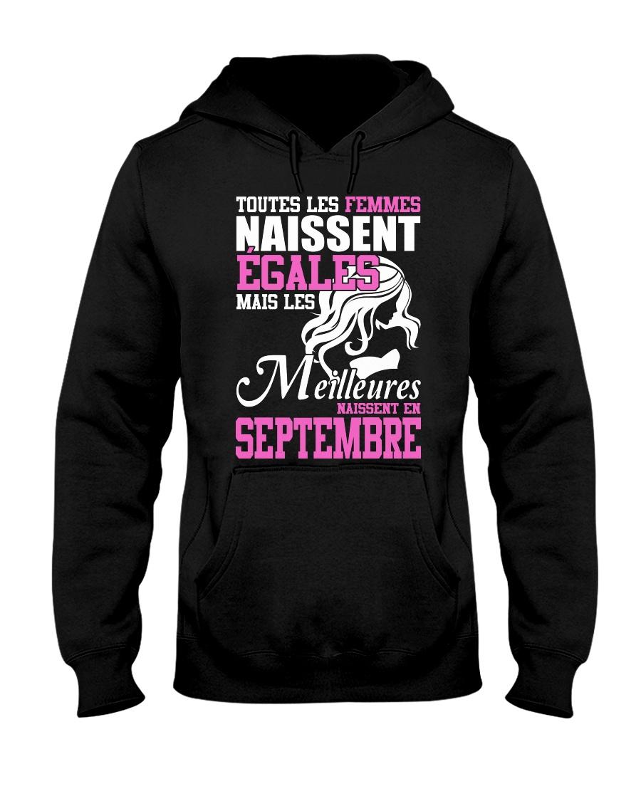 septembre toutes-les-femmes Hooded Sweatshirt