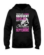 septembre toutes-les-femmes Hooded Sweatshirt front