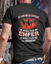 octobre enfer Classic T-Shirt lifestyle-mens-crewneck-back-2