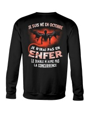 octobre enfer Crewneck Sweatshirt thumbnail