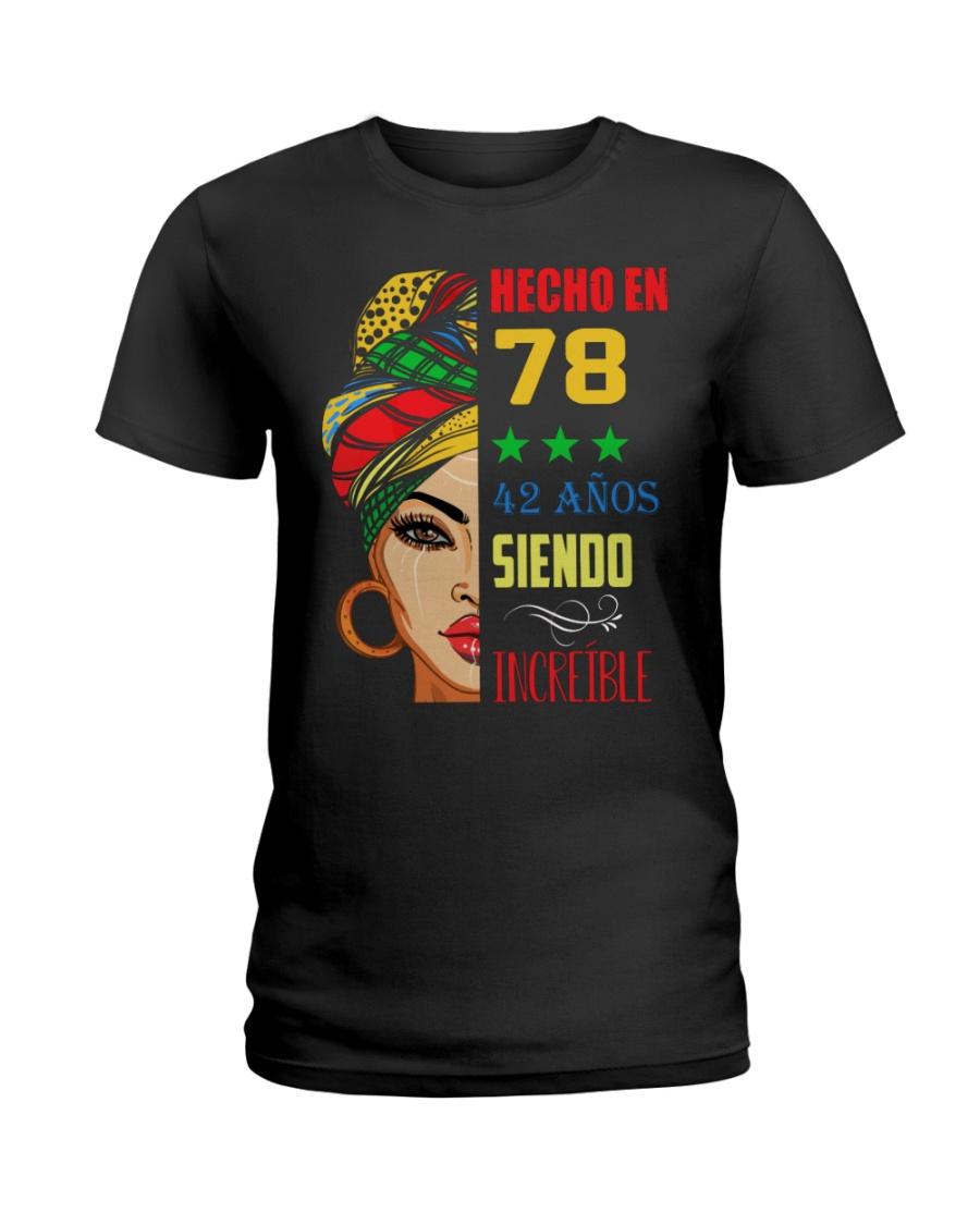 Hecho En 78 Ladies T-Shirt