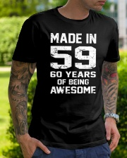 being awesome59 Classic T-Shirt lifestyle-mens-crewneck-front-7