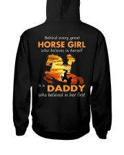 horse girl Hooded Sweatshirt thumbnail