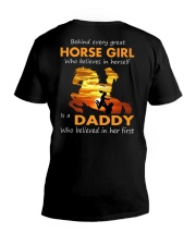 horse girl V-Neck T-Shirt thumbnail