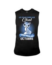 chat octobre Sleeveless Tee thumbnail