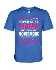 noviembrel-mama V-Neck T-Shirt thumbnail