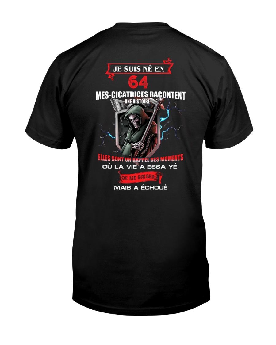 je suis ne en 64 Classic T-Shirt