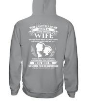 wife awesome Hooded Sweatshirt thumbnail