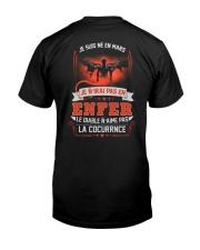 mars je n'irai pas en enfer Classic T-Shirt back