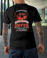 mars je n'irai pas en enfer Classic T-Shirt lifestyle-mens-crewneck-back-3