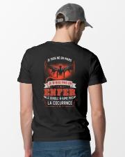 mars je n'irai pas en enfer Classic T-Shirt lifestyle-mens-crewneck-back-6