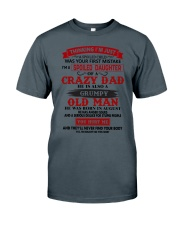 crazy dad august Classic T-Shirt tile