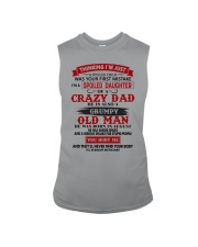 crazy dad august Sleeveless Tee tile