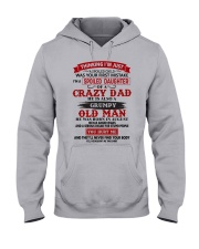 crazy dad august Hooded Sweatshirt thumbnail