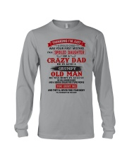 crazy dad august Long Sleeve Tee thumbnail