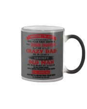 crazy dad august Color Changing Mug thumbnail