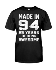being awesome94 Classic T-Shirt front