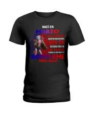 naci en 3 Ladies T-Shirt front
