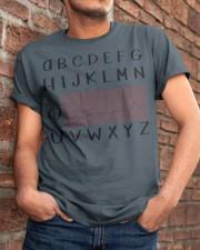 abcdefg Classic T-Shirt apparel-classic-tshirt-lifestyle-26