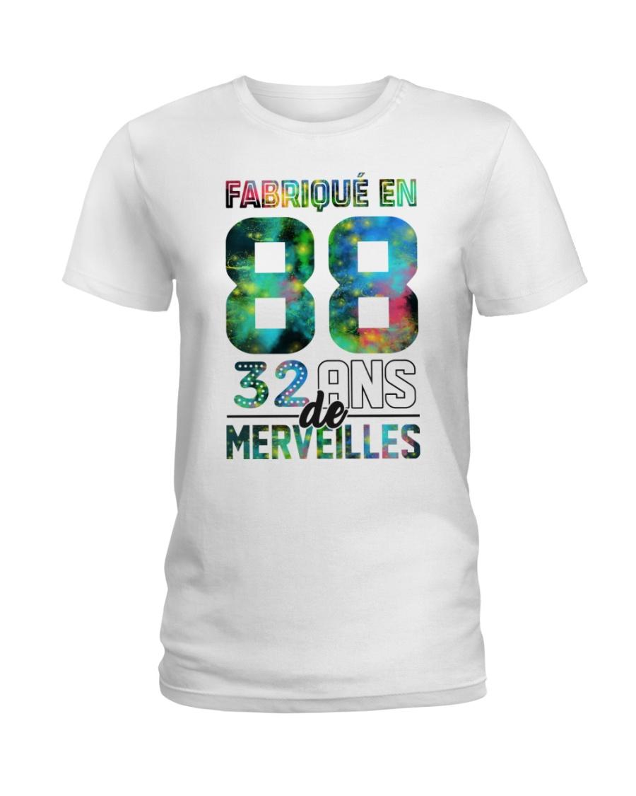funny do it 32 Ladies T-Shirt