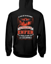 novembre je n'irai pas en enfer Hooded Sweatshirt tile