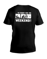 so ready for the weekend V-Neck T-Shirt thumbnail