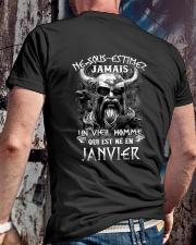 janvier jamais Classic T-Shirt lifestyle-mens-crewneck-back-2
