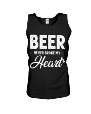 beer never broke my heart Unisex Tank thumbnail