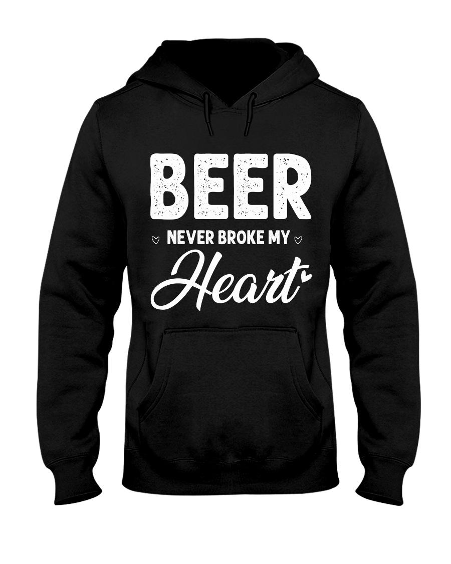 beer never broke my heart Hooded Sweatshirt