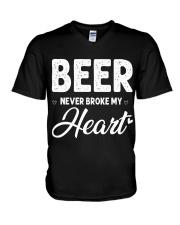 beer never broke my heart V-Neck T-Shirt thumbnail