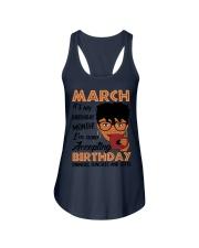 march birthday Ladies Flowy Tank thumbnail
