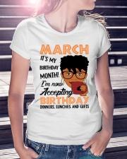 march birthday Ladies T-Shirt lifestyle-women-crewneck-front-7
