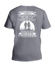 october husband V-Neck T-Shirt thumbnail