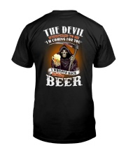 the devil beer Classic T-Shirt back